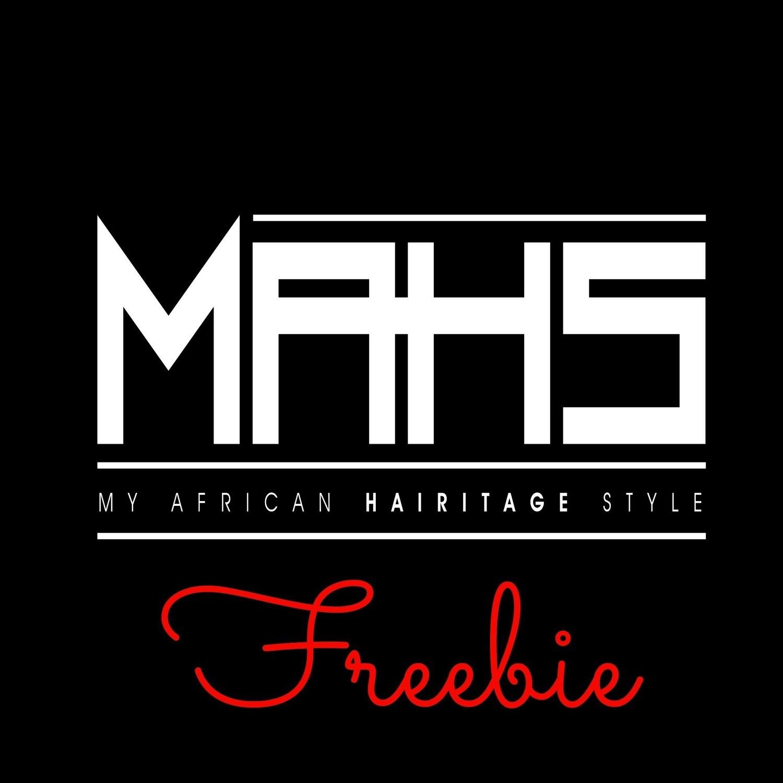 MAHS Hair Regimen Builder Giveaway (Free Download)