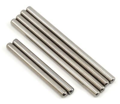 TITANIUM HINGE PINS fits RC8B3, RC8T3  -  1/2 the weight!!