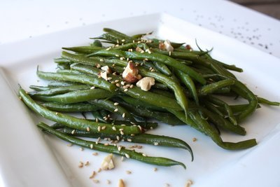 (XV) Steamed Green Beans