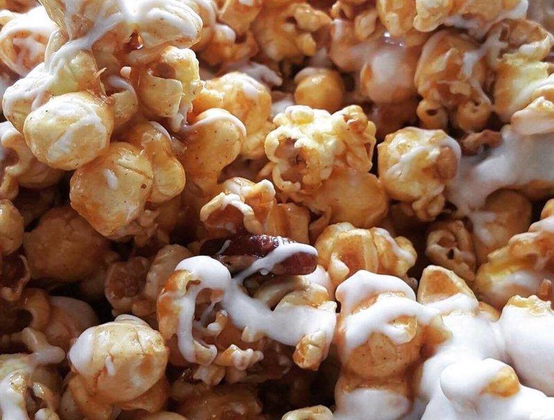 Cinnabon Popcorn with Pecans