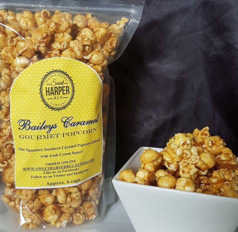 Bailey's Caramel Popcorn
