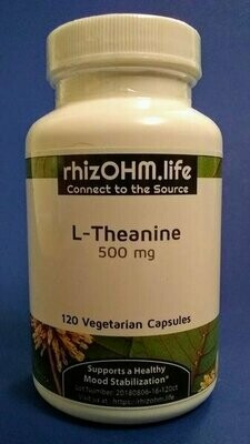 L-Theanine 500 mg x 120 Veggie Caps