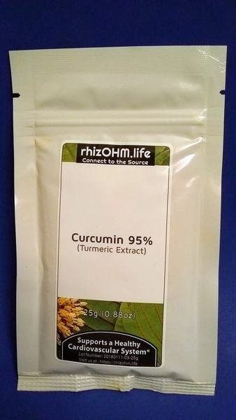 Curcumin 95% Natural Turmeric Extract 25 grams