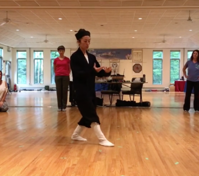 Lindsey Wei - Bagua Stepping