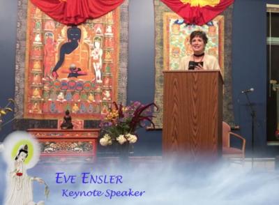 2 Videos: Keynote Speaker, Eve Ensler & Special Guest,  Julia Butterfly Hill