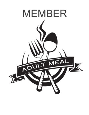 Member Adult Meal (age 10+)
