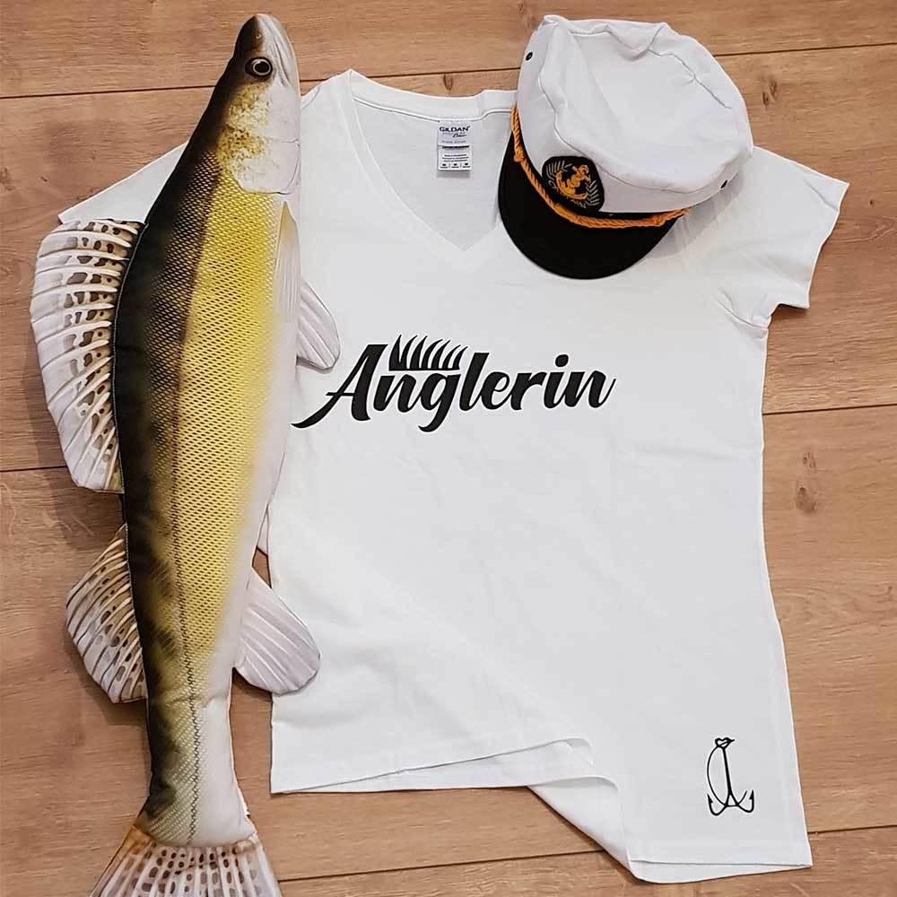 """""""Anglerin"""" T-Shirt (Damen) M1-AA 88433"""