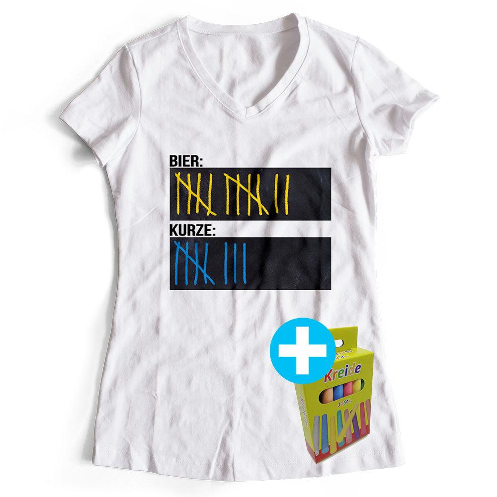 Original Sauf-Counter Classic T-Shirt (Damen & Herren, alle Farben)