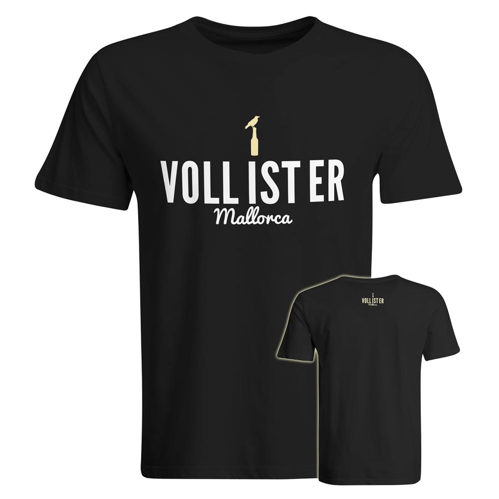 """Sauf-Counter"" T-Shirt + ""Voll ist er"" T-Shirt (Herren)"