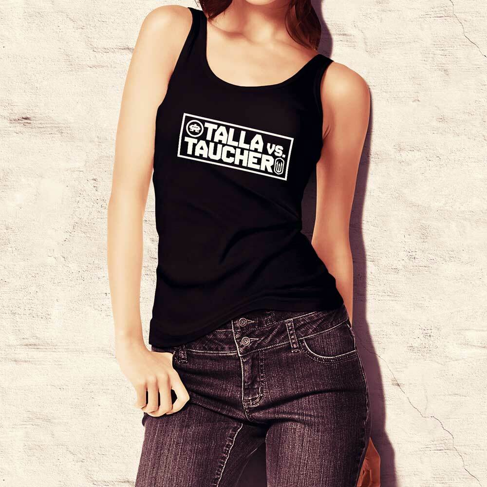 """Talla vs. Taucher"" Tanktop (Women)"