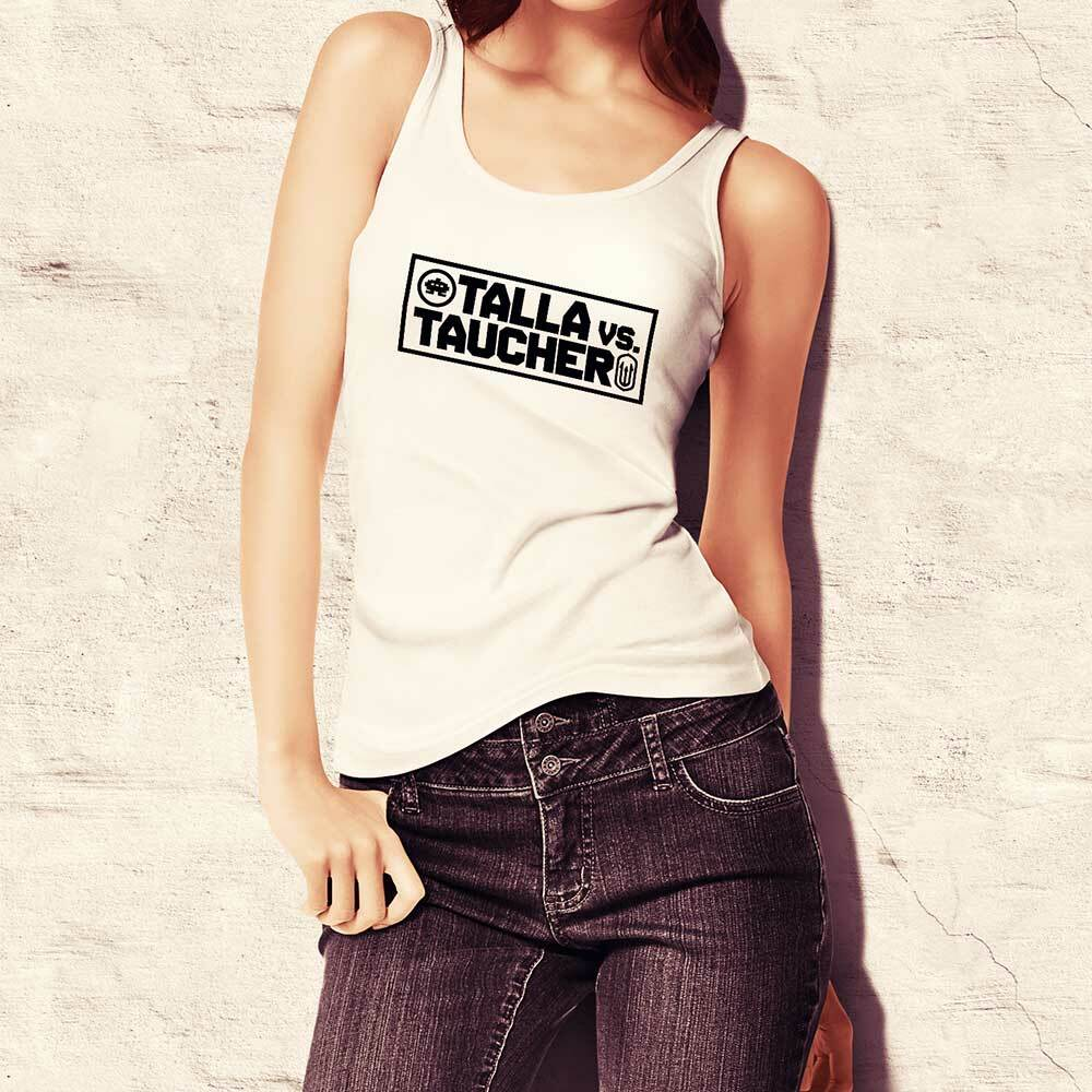 """Talla vs. Taucher"" Tanktop (Women) 92066"