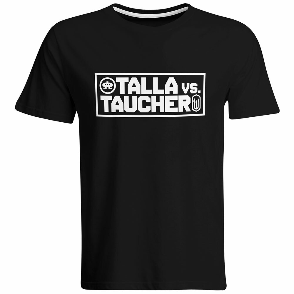 """Talla vs. Taucher"" T-Shirt (Men) 92067"