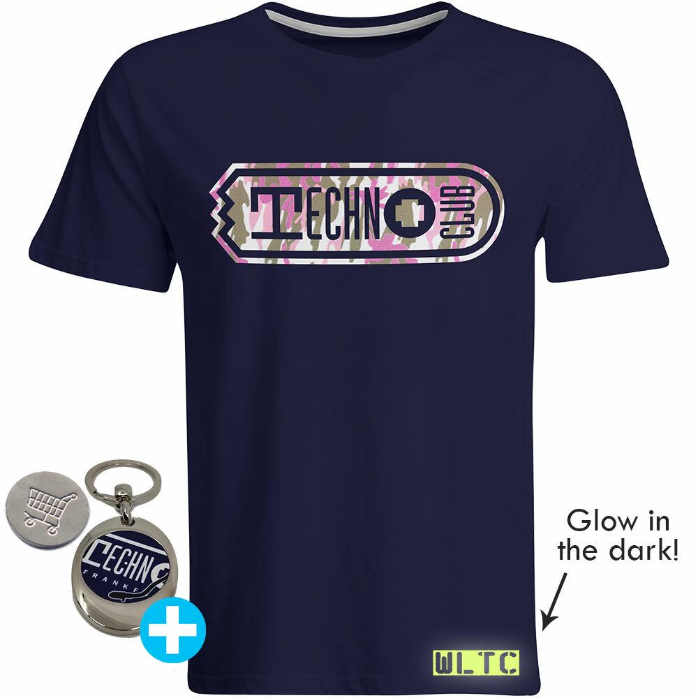 We love Technoclub 2019 T-Shirt (Men) inkl. Edelstahl-Schlüsselanhänger