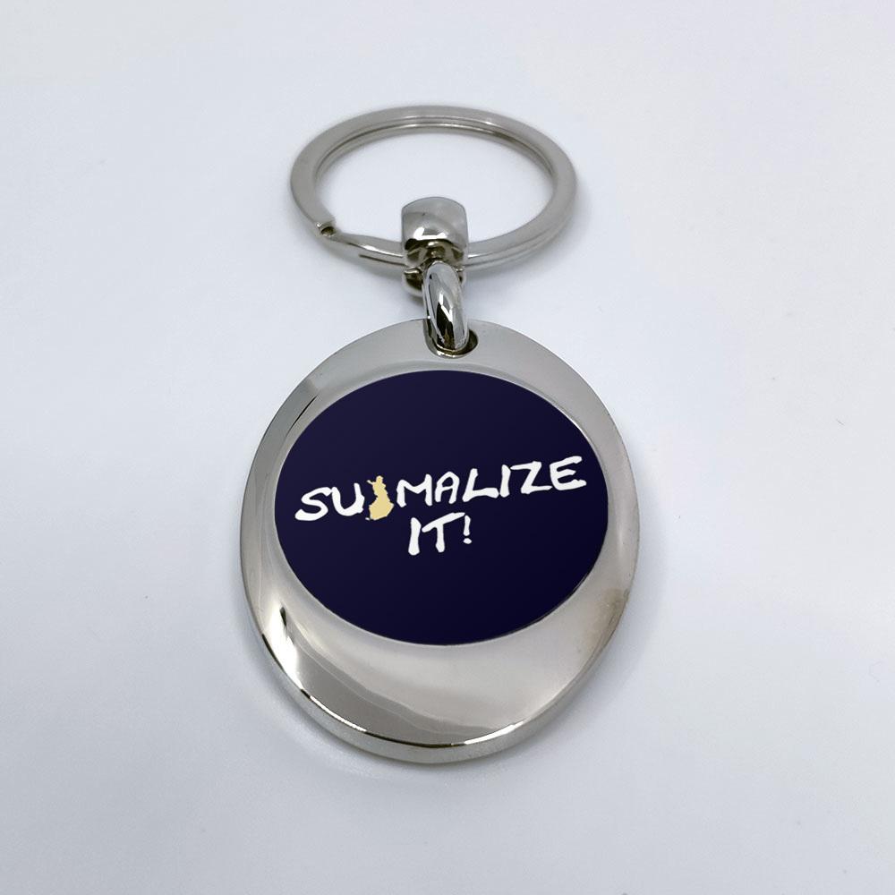 """""""Suomalize it!"""" Schlüsselanhänger mit integriertem Einkaufswagen-Chip 92120"""