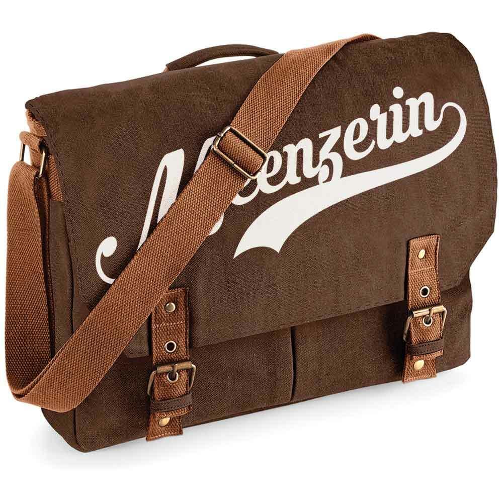 """""""Meenzerin"""" Premium Schultertasche im Vintagelook [NEU!]"""