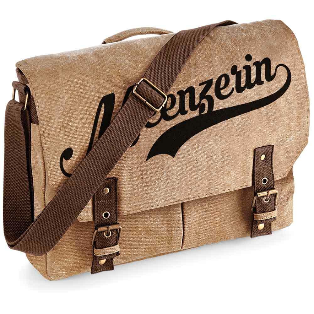 """""""Meenzerin"""" Premium Schultertasche im Vintagelook [NEU!] M1-RHL 92159"""