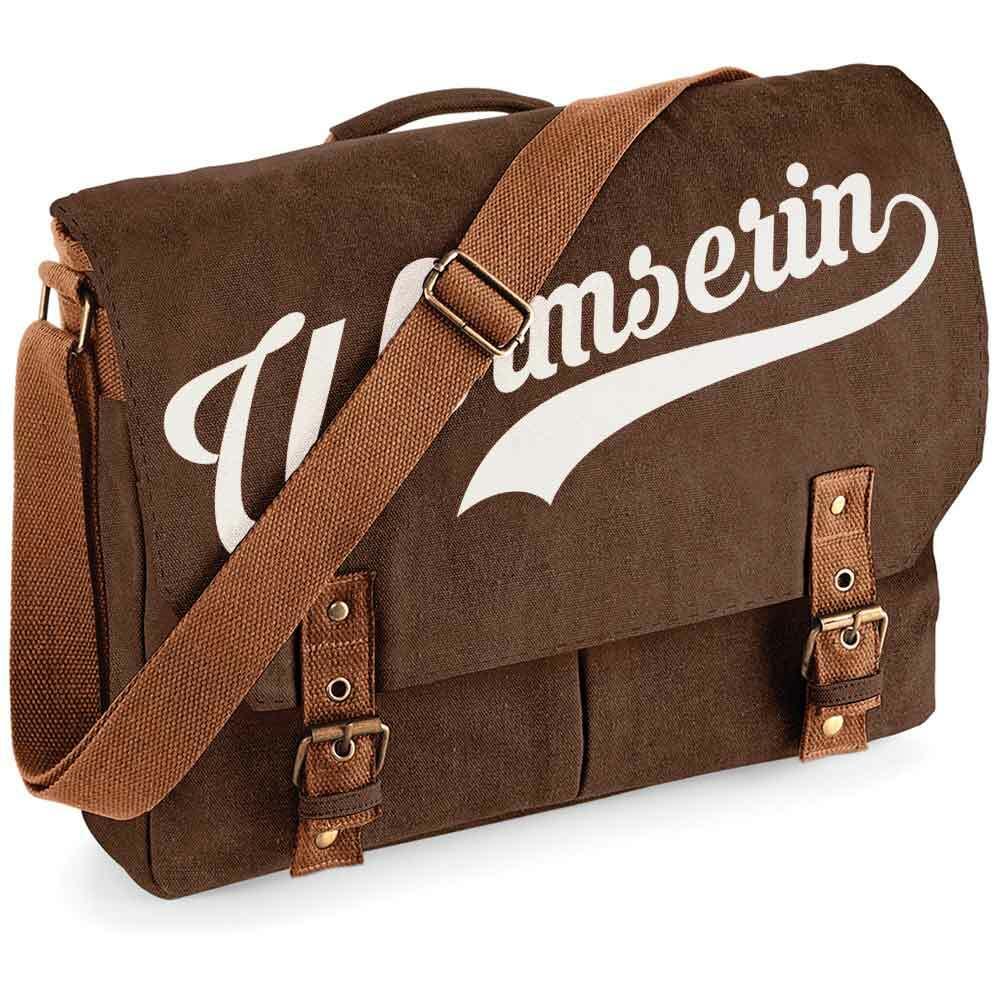 """""""Wormserin"""" Premium Schultertasche im Vintagelook [NEU!]"""