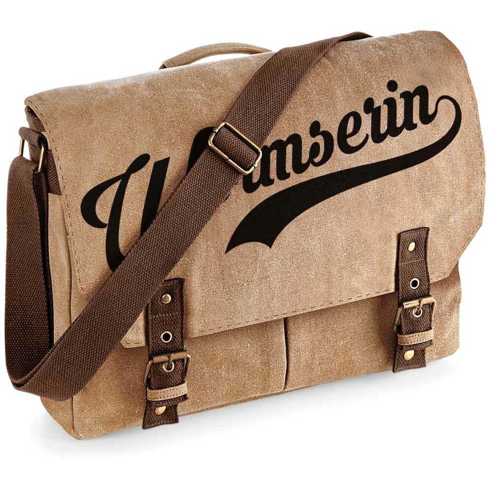 """""""Wormserin"""" Premium Schultertasche im Vintagelook [NEU!] M1-RHL 92122"""