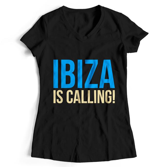 Ibiza is calling! T-Shirt (Women) 00035