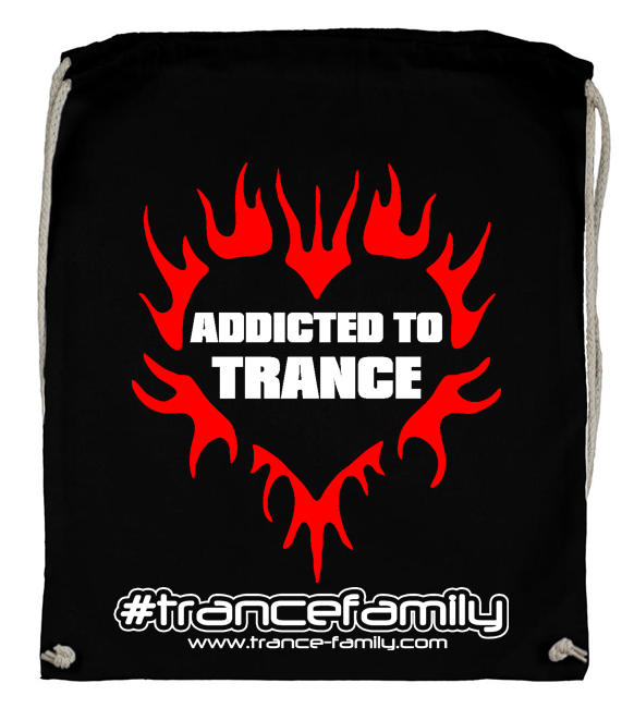 Addicted to Trance (#trancefamily Backpack) M1-TFC  M1-TFC  00099