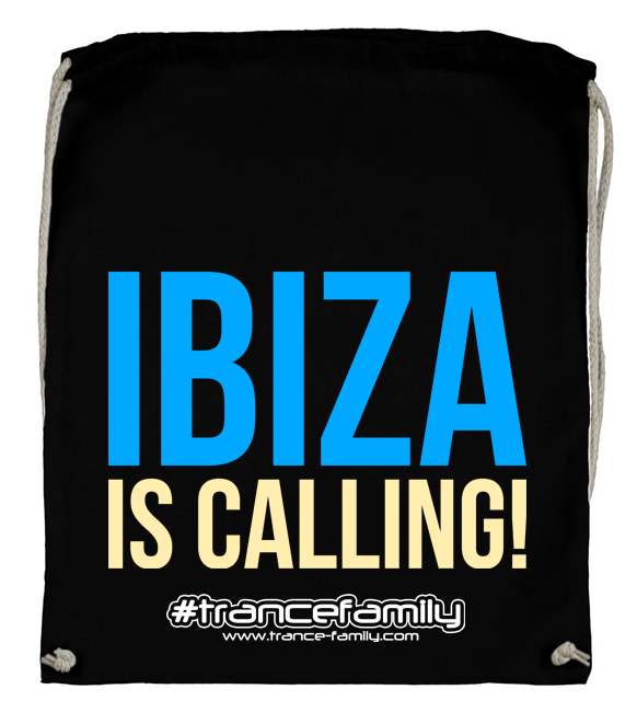 Ibiza is calling! (#trancefamily Backpack) M1-TFC  00104