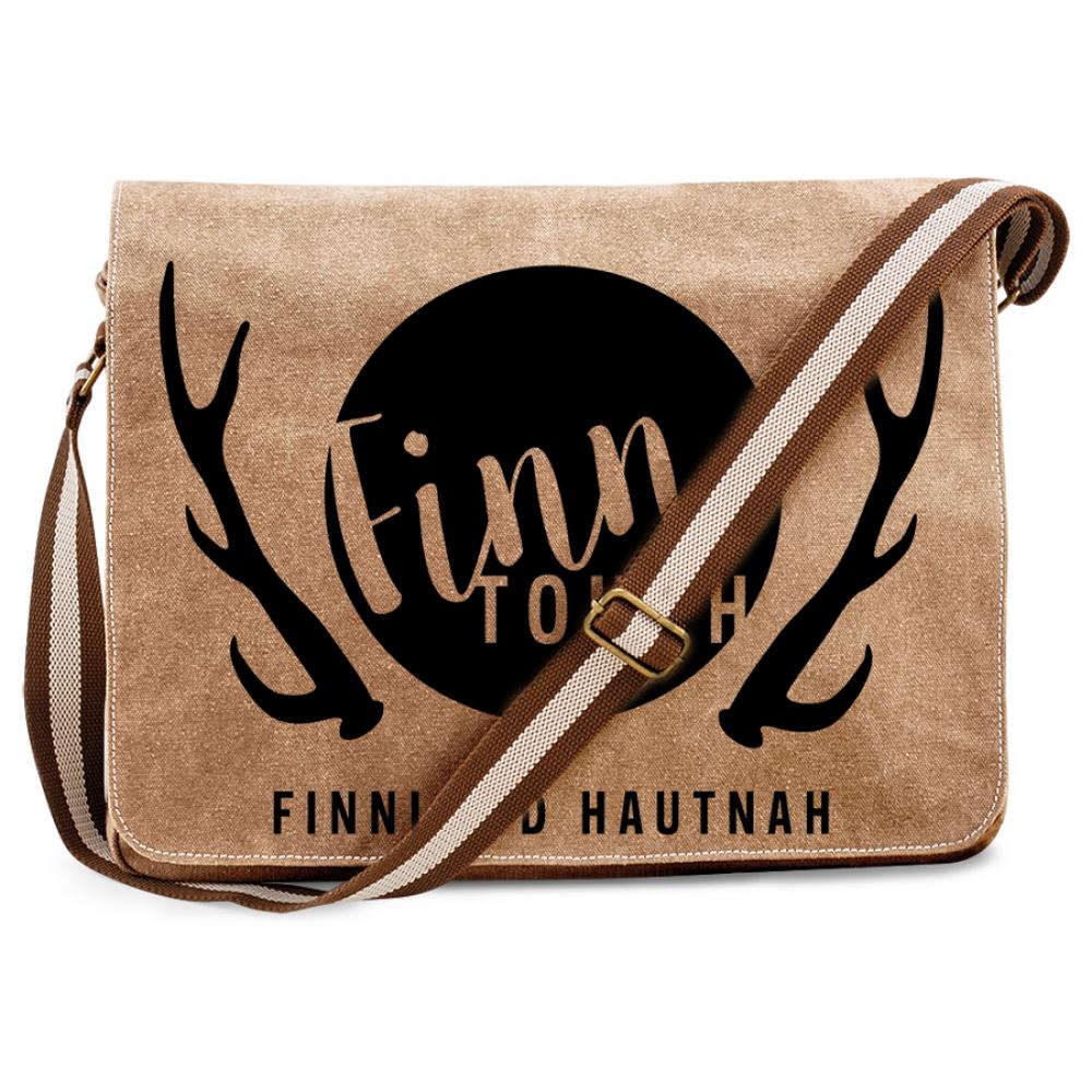 FinnTouch Premium Messengertasche im Vintagelook M1-FT 00125