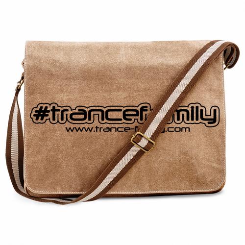 #trancefamily Premium Messengerbag (Vintage Design) M1-TFC  00148