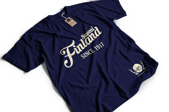 """Suomi Finland - since 1917""  T-Shirt (Men) M1-FT 00160"