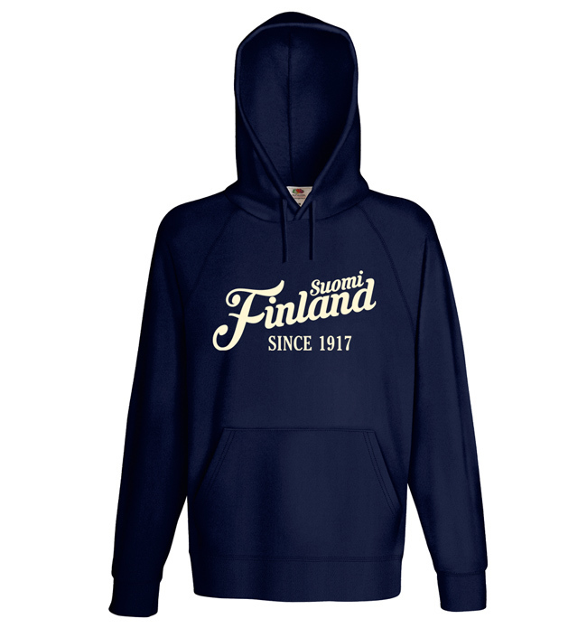 """Suomi Finland - since 1917"" Hoodie (Unisex) M1-FT 00158"