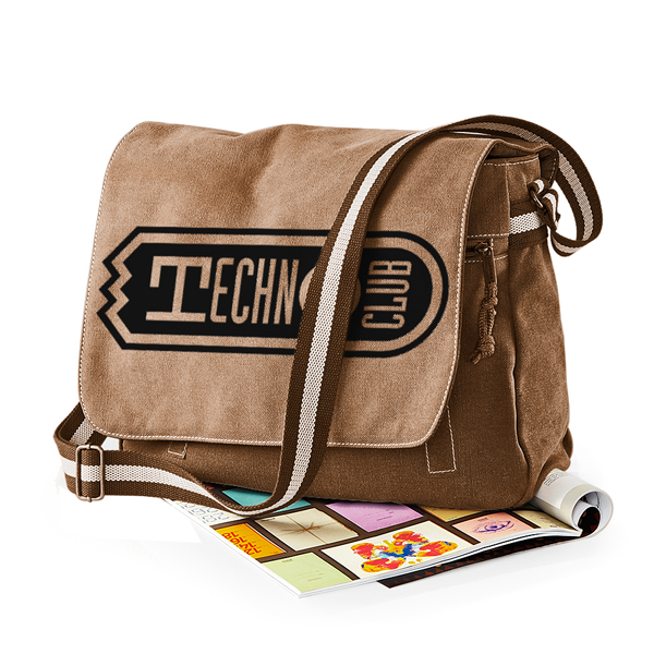 Technoclub Premium Messengerbag (Vintage Design)