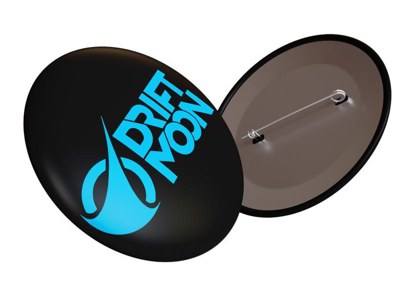 Driftmoon button (25 mm) 00177