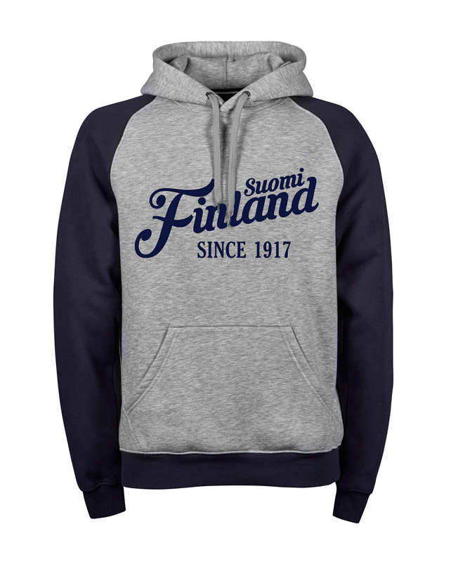 """Suomi Finland - since 1917"" Premium Hoodie M1-FT 00191"