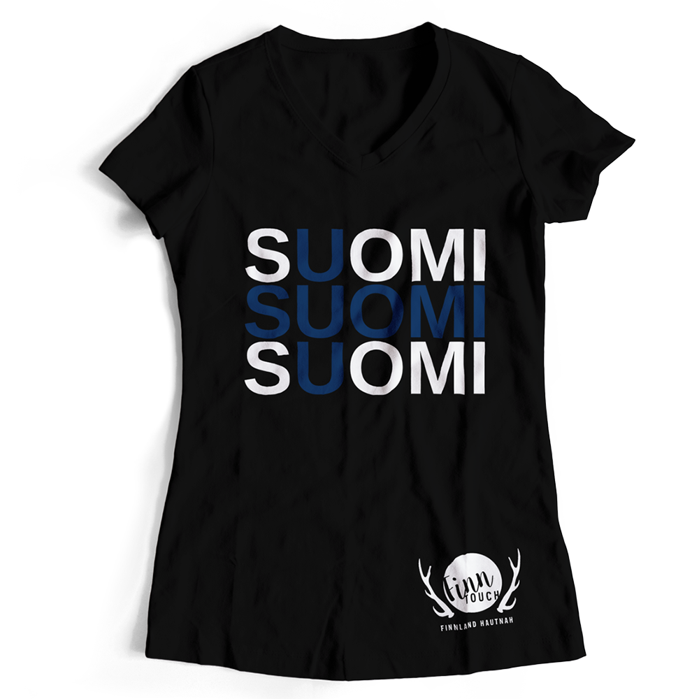 "Girlieshirt ""Suomi"" M1-FT 00196"