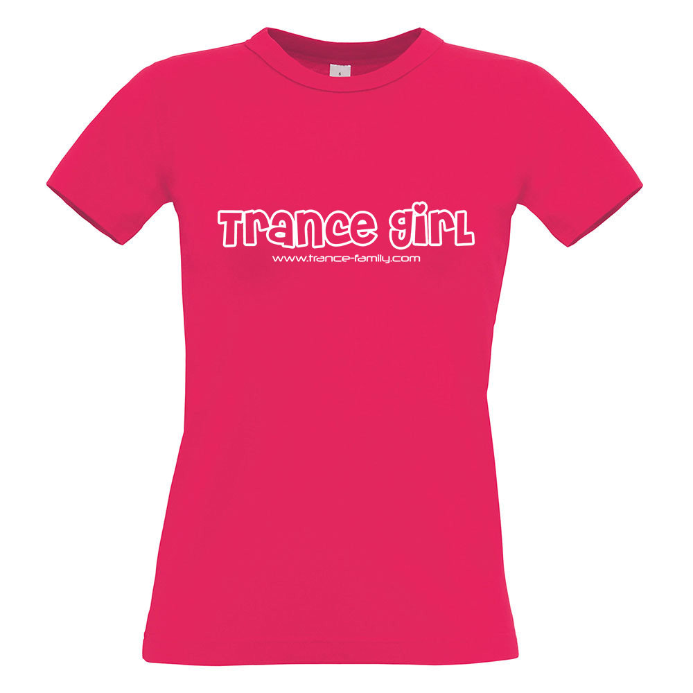 Trance Girl (#trancefamily T-Shirt Women) Edition 2 M1-TFC  00204