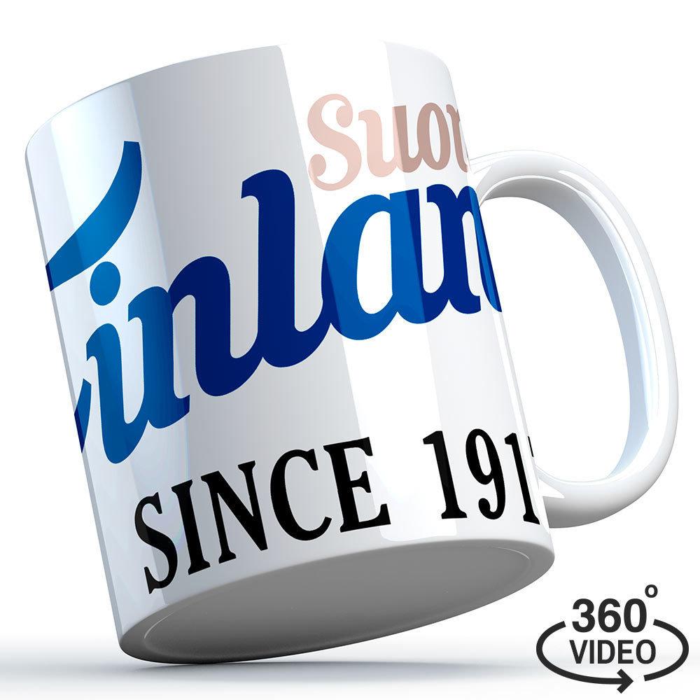 "Finnland Tasse ""Suomi Finland - since 1917"" M1-FT 11126"