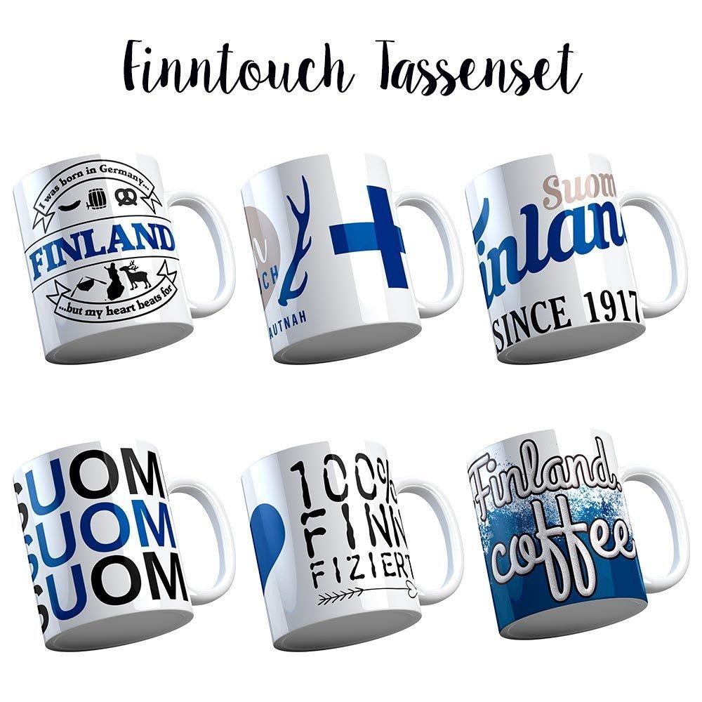 FinnTouch Geschenkset (bestehend aus sechs Tassen) M1-FT 11136