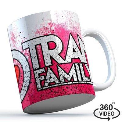 Trancefamily FFM Tasse (Pink Splash)