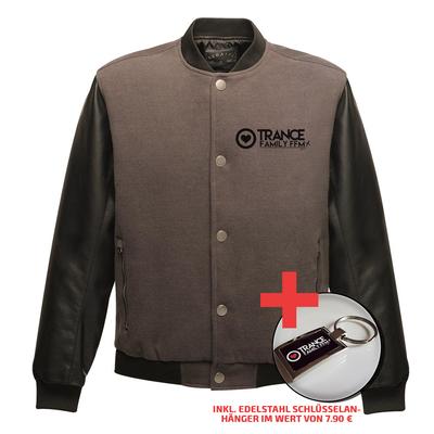 Two-Tone Trancefamily FFM Jacket (Men) + Edelstahl Schlüsselanhänger