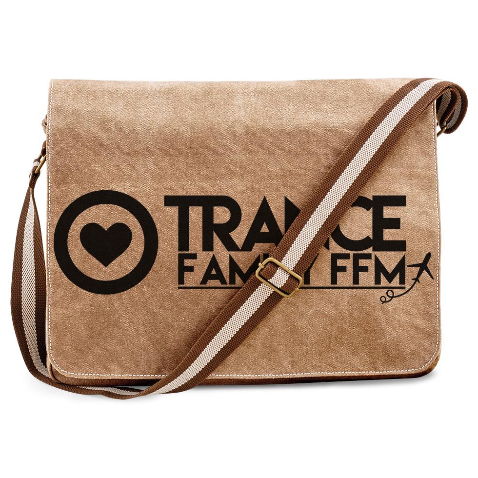 Trancefamily FFM Premium Messengerbag (Vintage Design) 11160