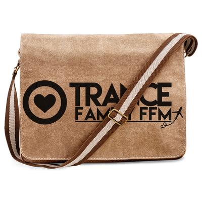 Trancefamily FFM Premium Messengerbag (Vintage Design)