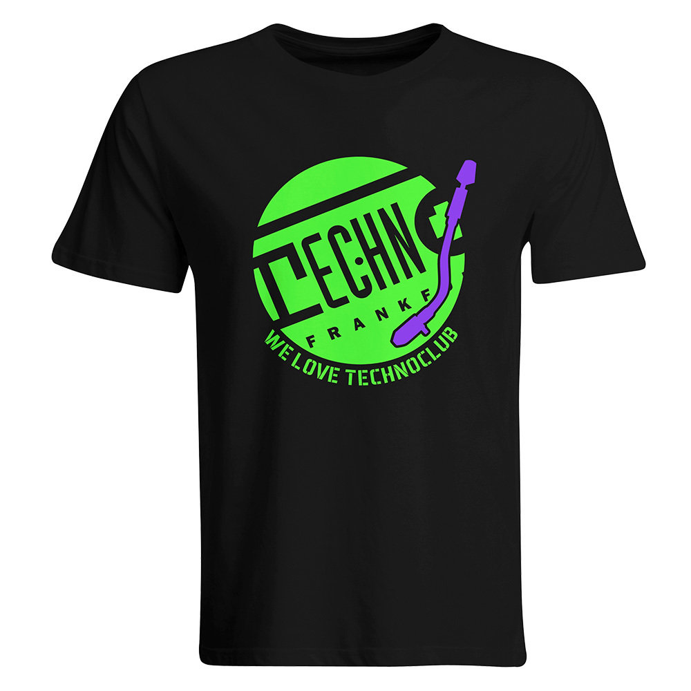 We love Technoclub T-Shirt 2017 (Men) 11171