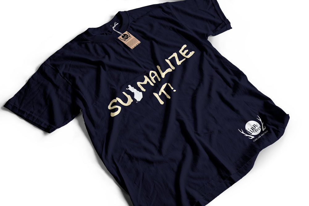 """Suomalize it!"" T-Shirt (Men) M1-FT 11180"