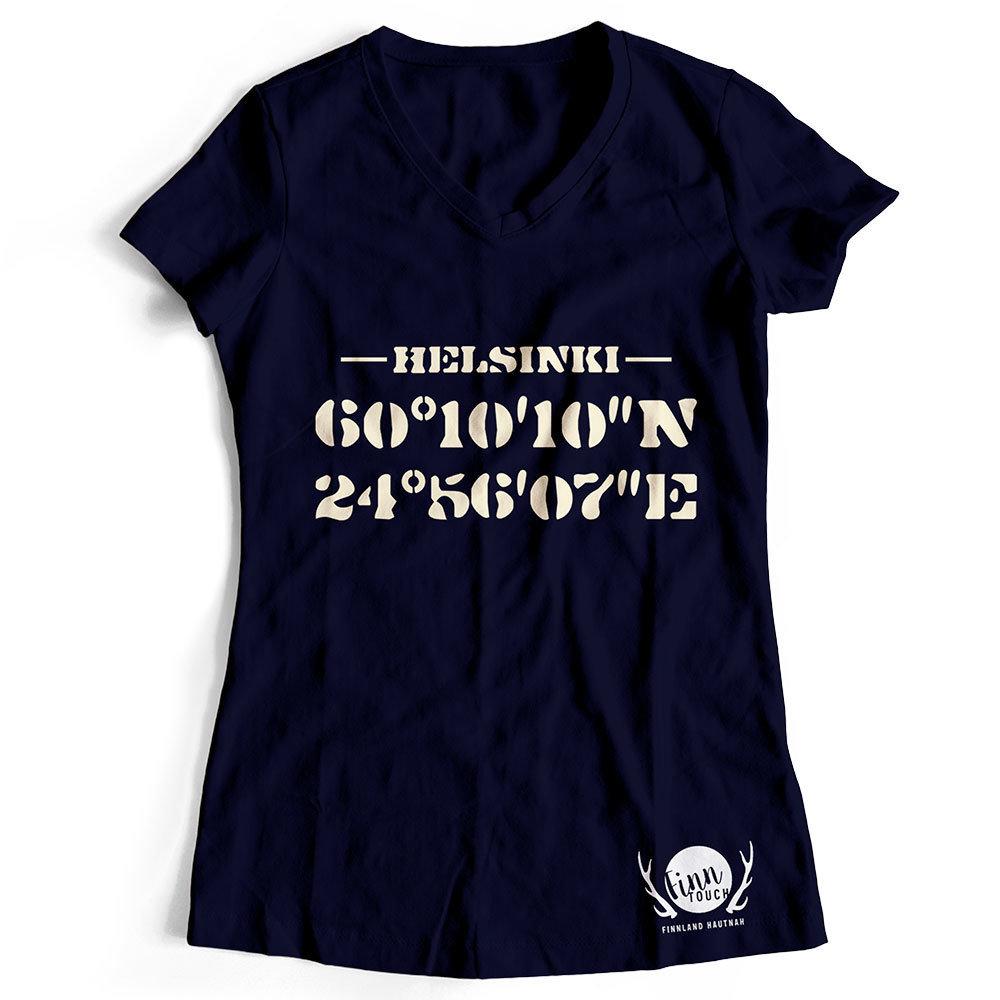 Damen T-Shirt (Navy)