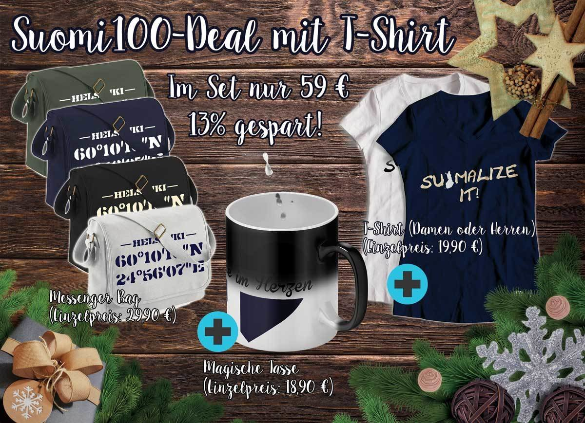 Suomi100-Deal mit T-Shirt M1-FT 11206