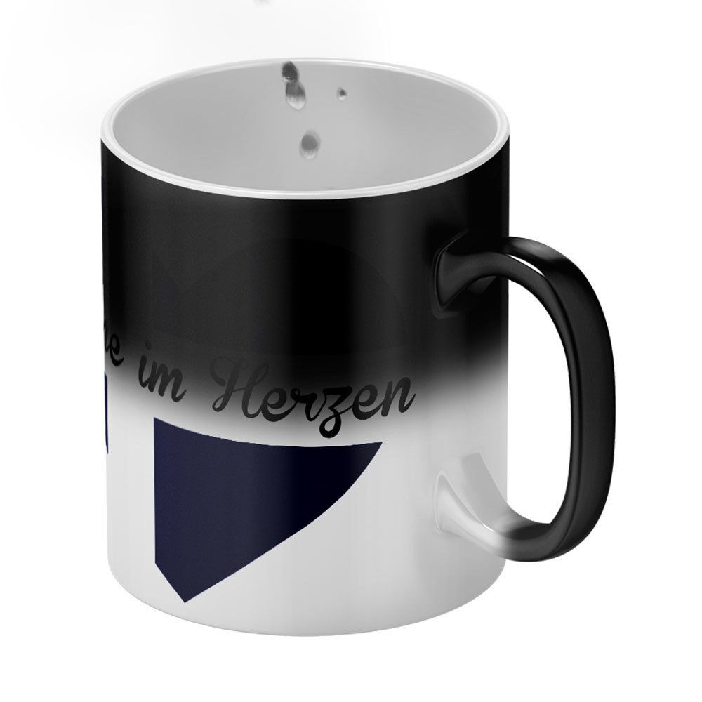 """Magische Tasse """"Finnin/Finne im Herzen"""" M1-FT 11208"""