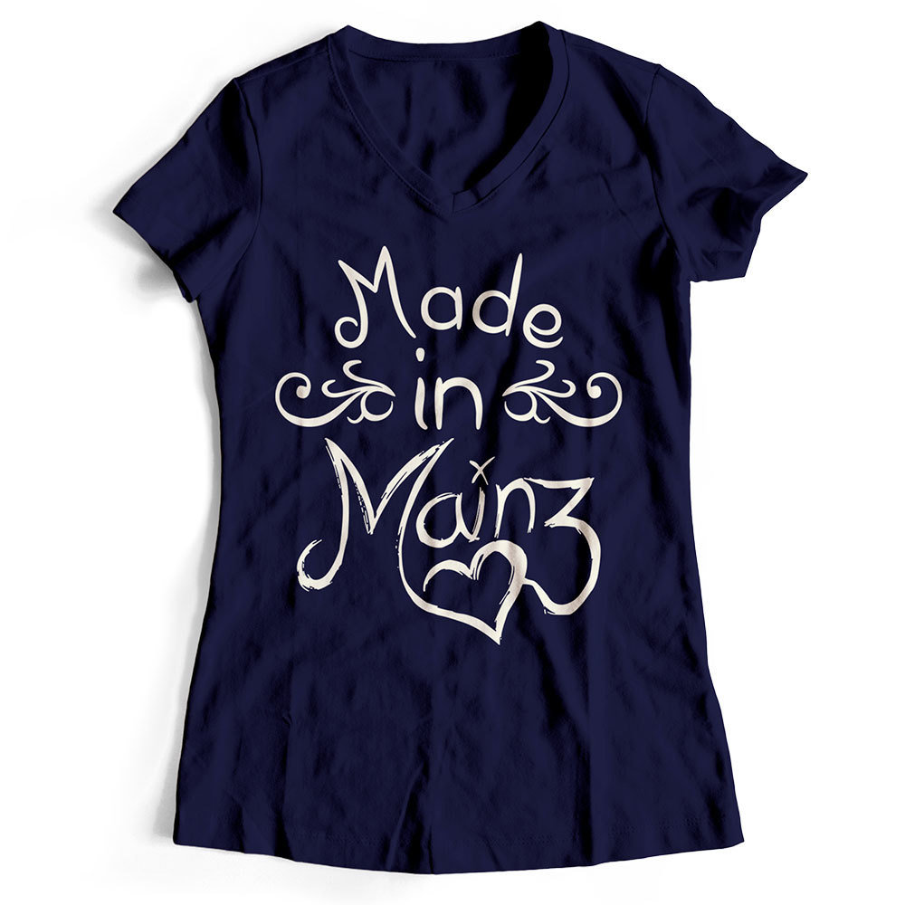 "T-Shirt ""Made in Mainz"" (Damen) 11251"