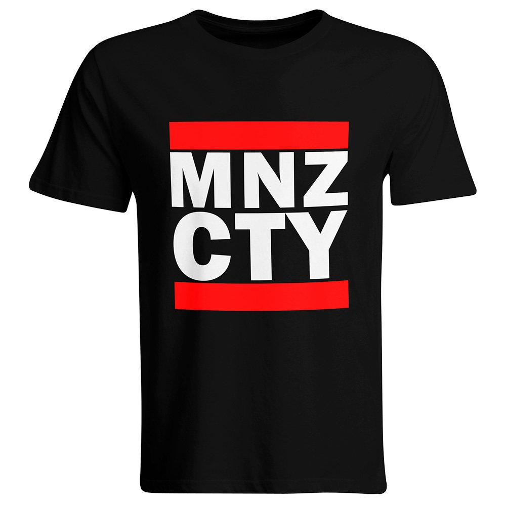 """Oldschool T-Shirt """"MNZ CTY"""" (Herren) 11272"""