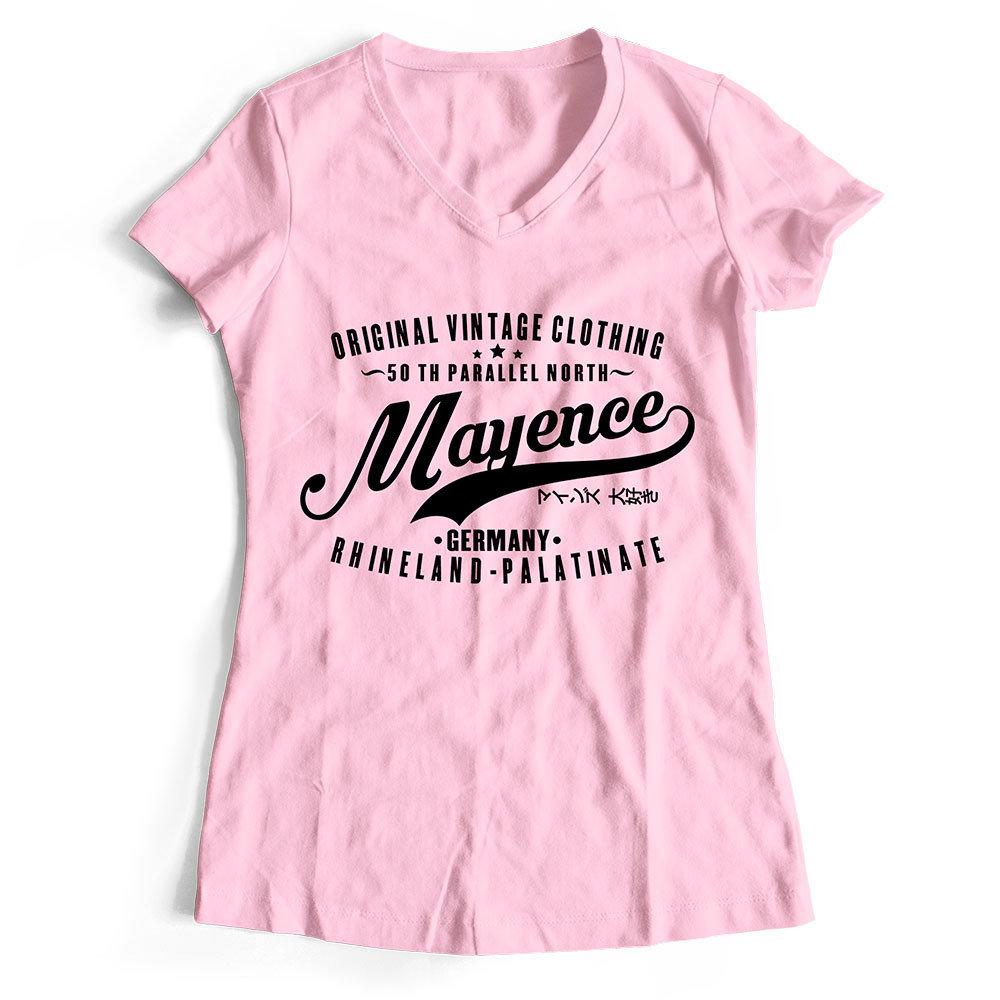 "Mainz T-Shirt ""50 th parallel North - Mayence"" (Damen) 11283"