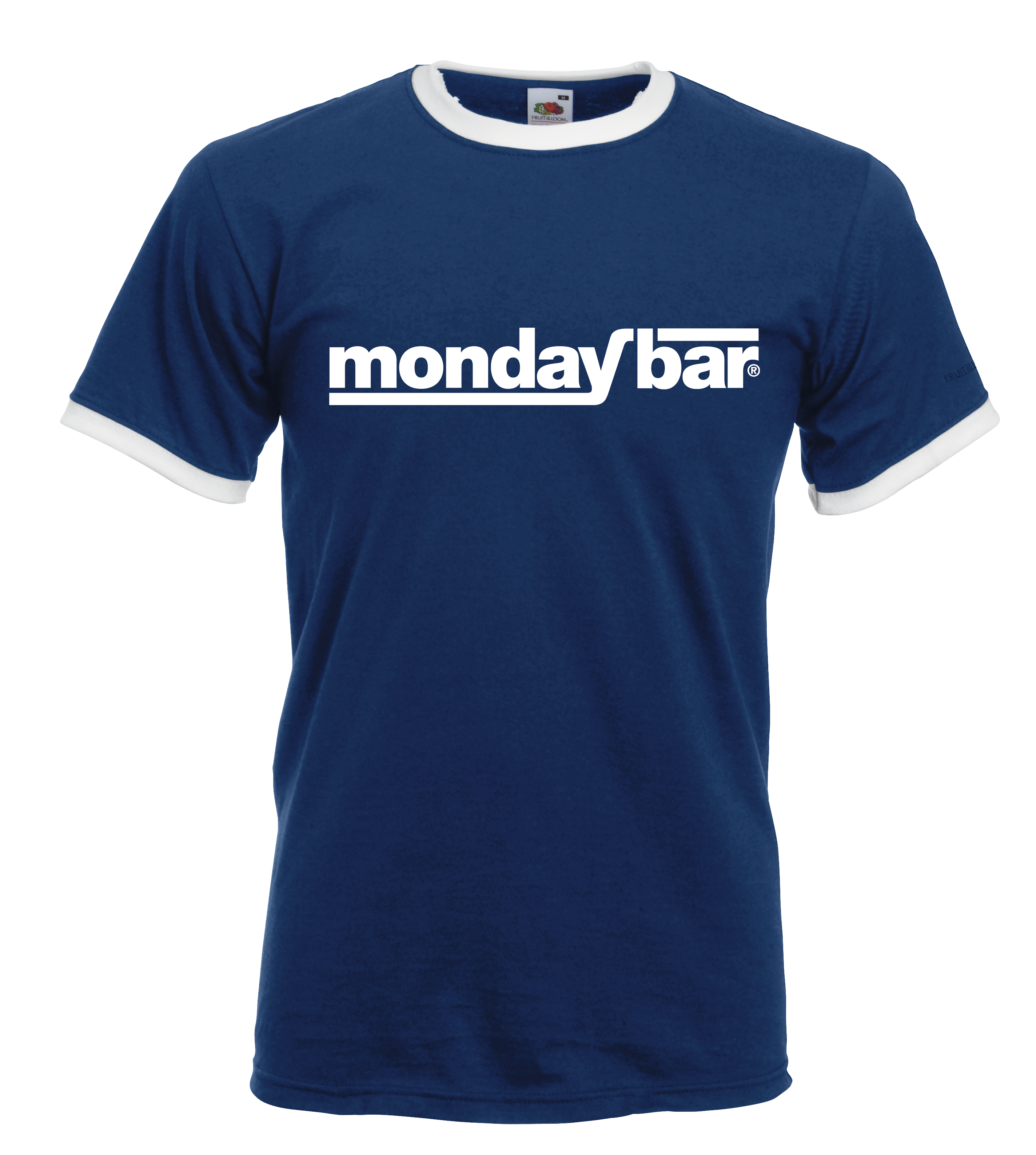 Monday Bar Ringer-Shirt (Men) MB85779