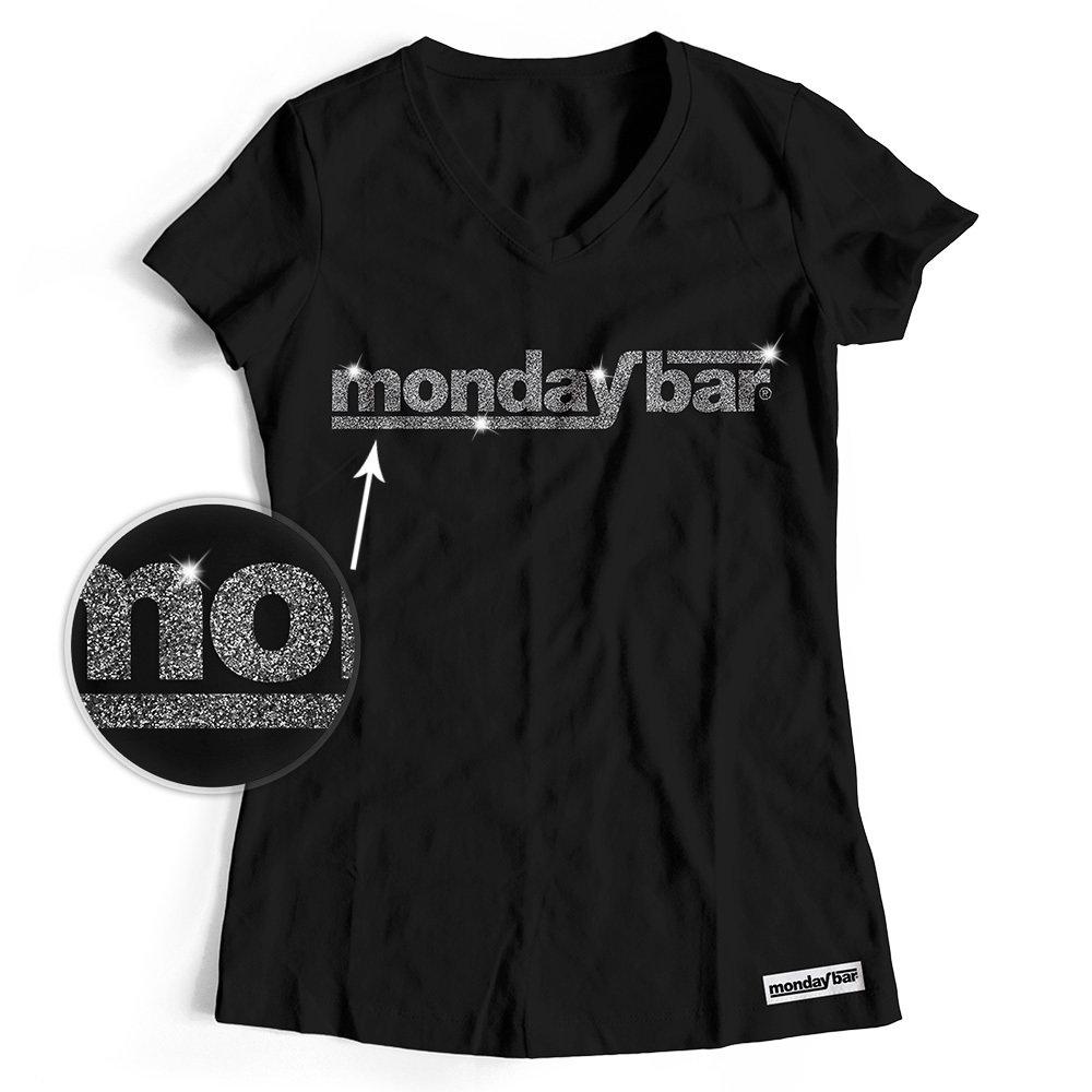 Official Monday Bar T-Shirt MAGIC GLITTER EDITION (Women) MB85783